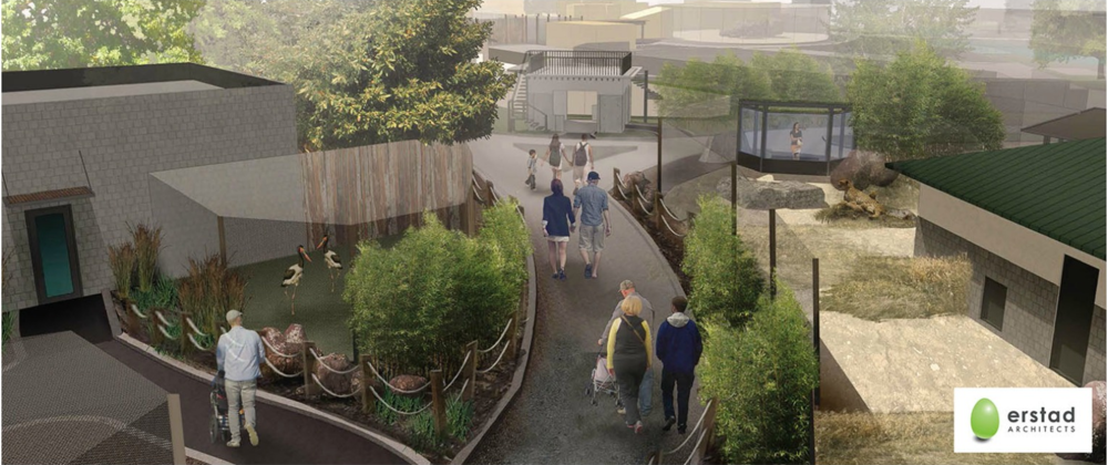 A rendering of a portion of the new Zoo Boise expansion. Courtesy Zoo Boise.