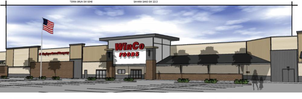 WinCo Foods rendering