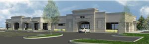 Dance studio, retail under construction in Barber Valley