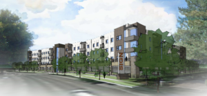 Apartments, restaurant planned for vacant lot on Park Blvd.