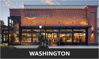 An Amazon Books store in Seattle. Photo via Amazon.
