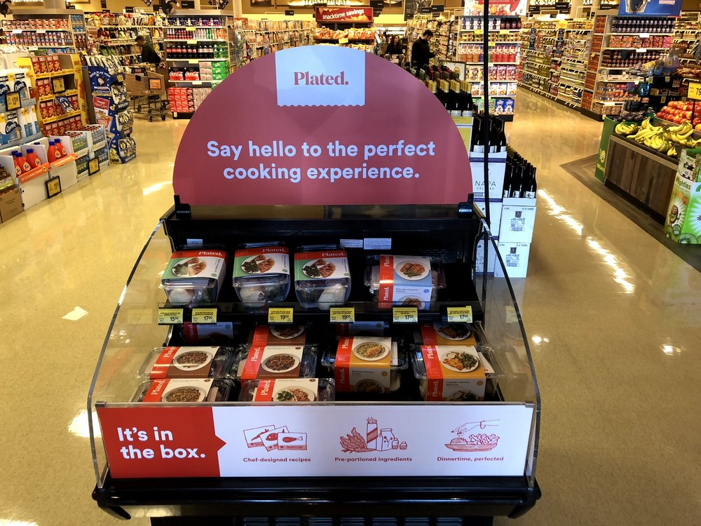 A Plated display at a Northern California Safeway. Don Day/BoiseDev
