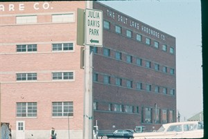 The library branch when it was Salt Lake Hardware Co. Photo courtesy City of Boise
