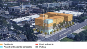 New 8-story residential project on the drawing board in Downtown Boise