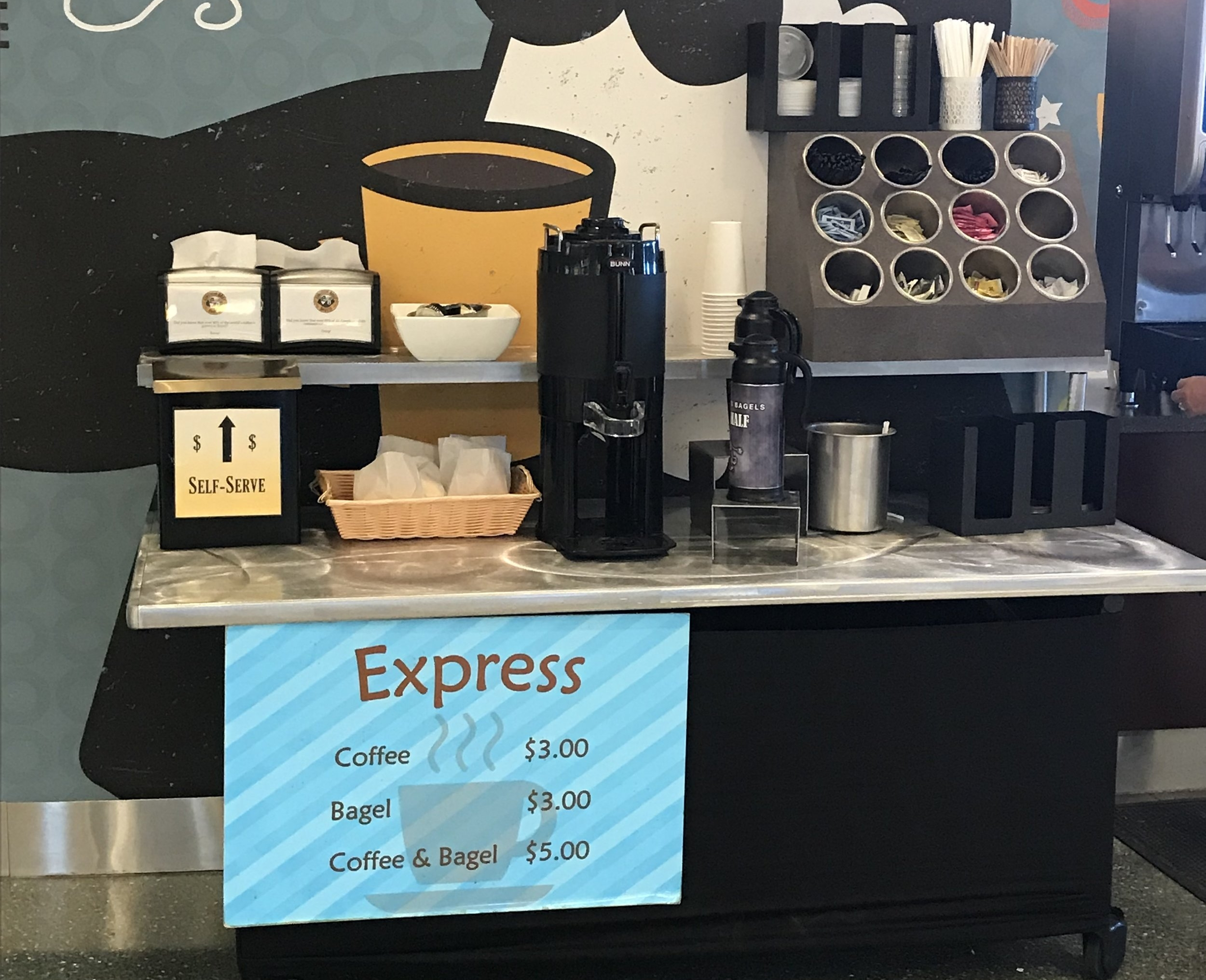 Boise Airport offers honor system for coffee & bagels - BoiseDev