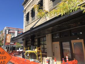 'Snowball effect' causes CCDC to review 'free awnings' in Downtown Boise