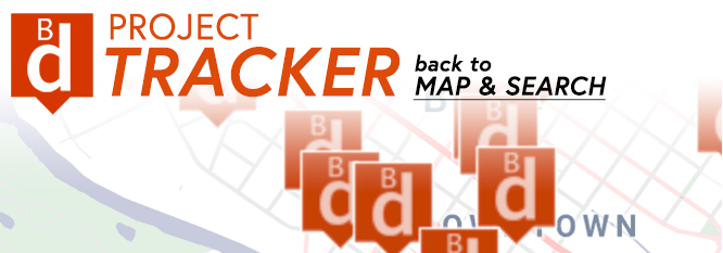 Project Tracker Map & Search