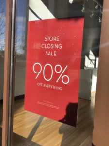Modern furniture store closes Village at Meridian store