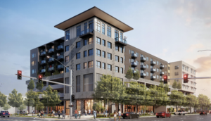 Ahead of design review, new 3rd & Myrtle project takes shape