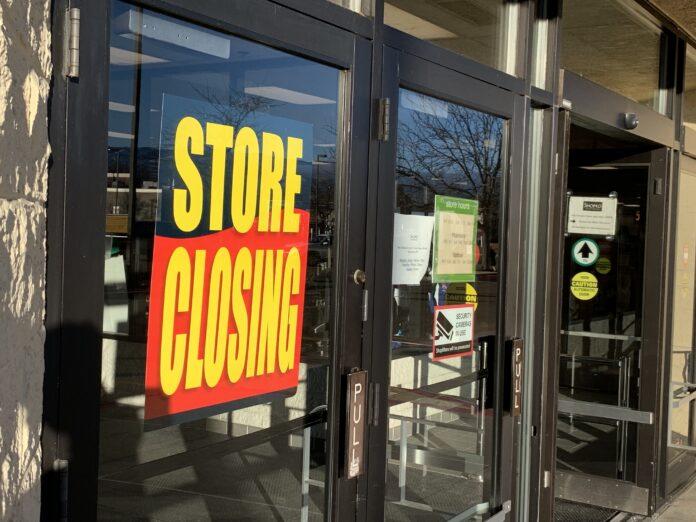 Boise store closings