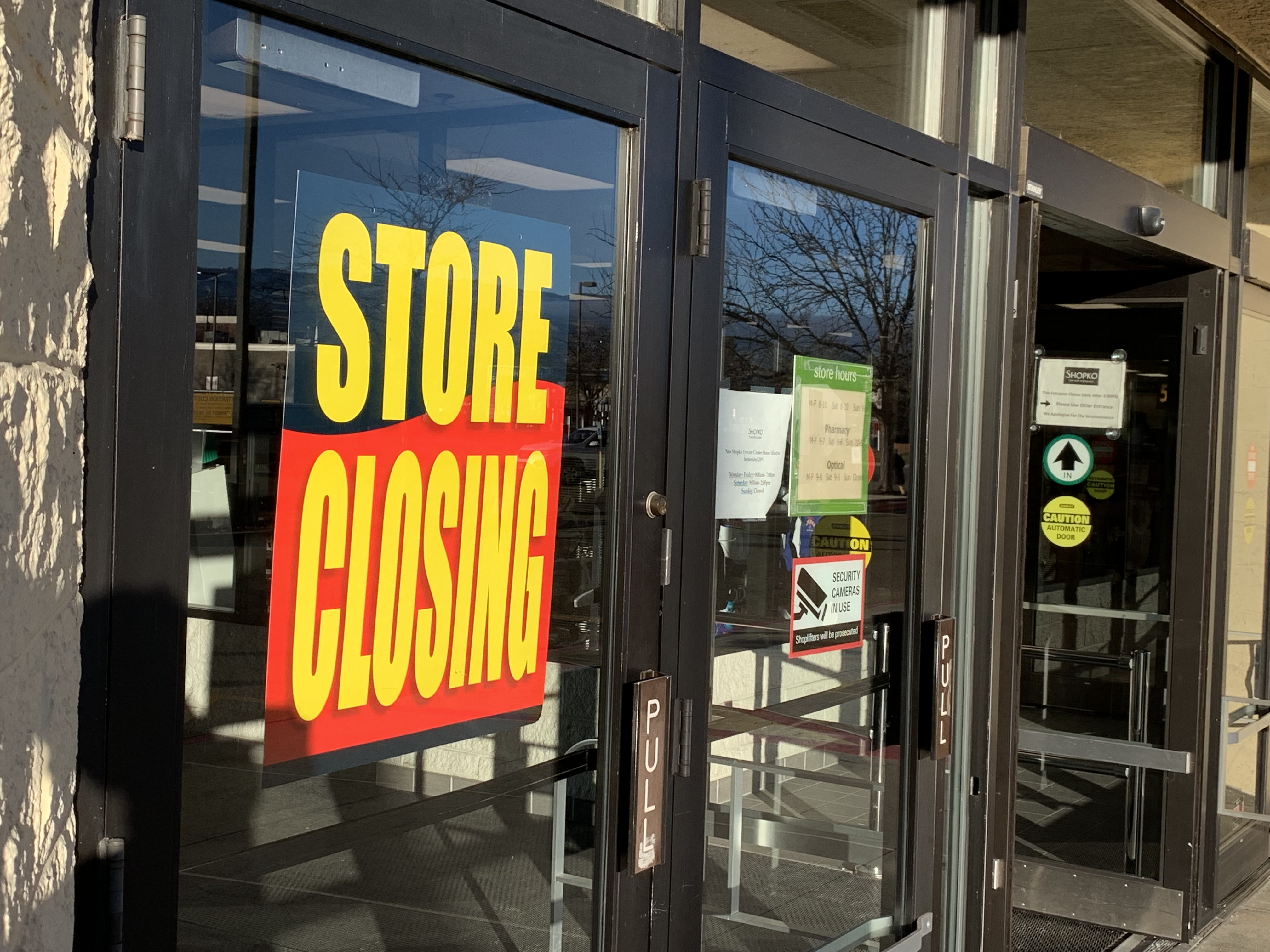 2118717b97 Shopko started a liquidation sale at its Broadway location in Boise this  week. This follows the planned shutdown of the store on Fairview Ave. and  Milwaukee ...