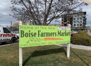 Boise Farmers Market sets new location for outdoor season