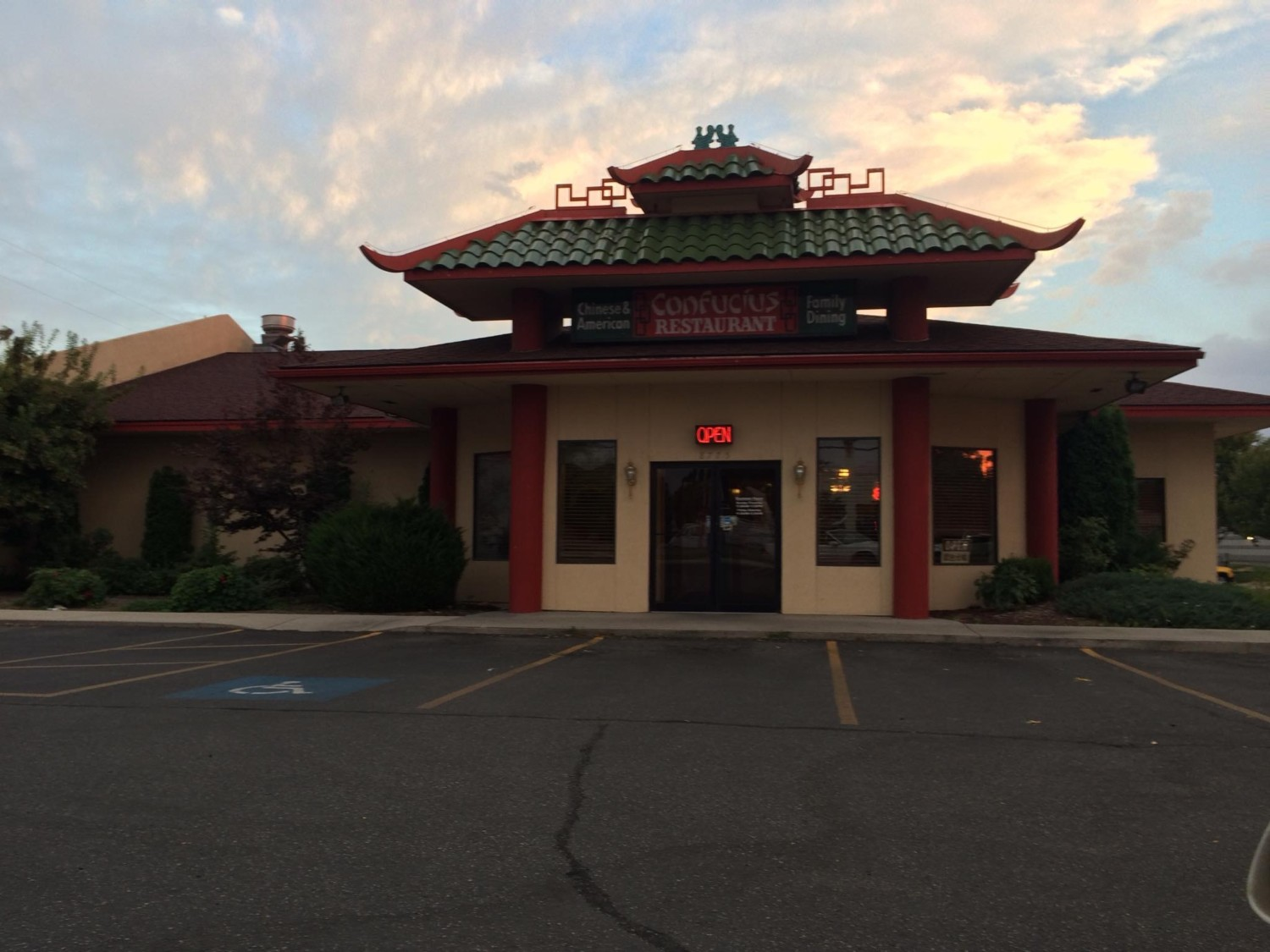 Confucius Restaurant Chinese Food In Boise Id Closes Doors