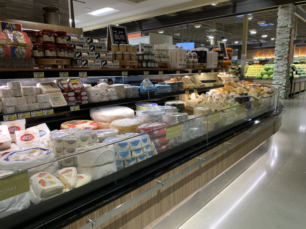 Albertsons Market Street cheese department