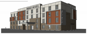 New Boise hotel would be fifth on one block by single company
