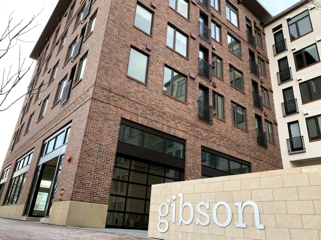 The Gibson apartments Boise