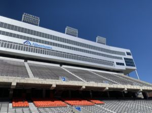 New Blue & upgraded video boards coming to Albertsons Stadium.