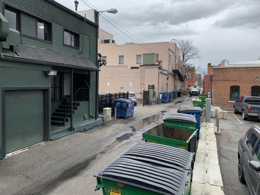 Block 7 alley Boise