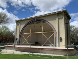 A year after fire, city set to restore, upgrade Gene Harris Bandshell