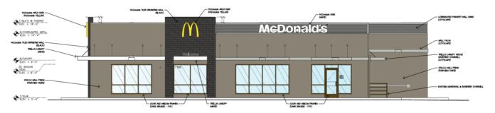 Vista McDonald's remodel