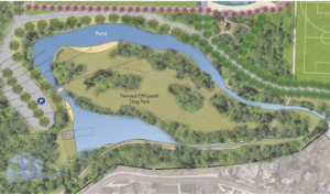 New Boise park feature will give dogs place to play in the water, off-leash