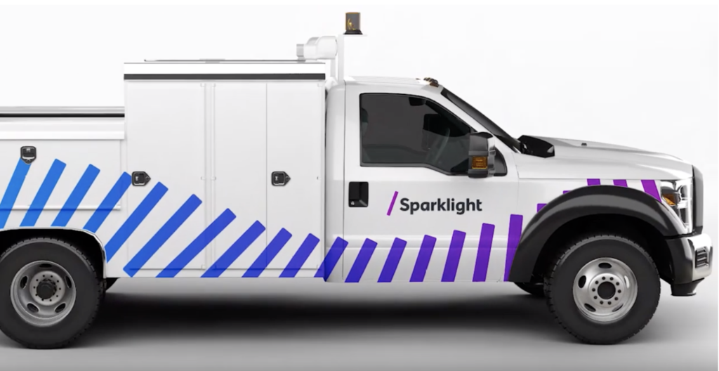 New Sparklight Boise truck
