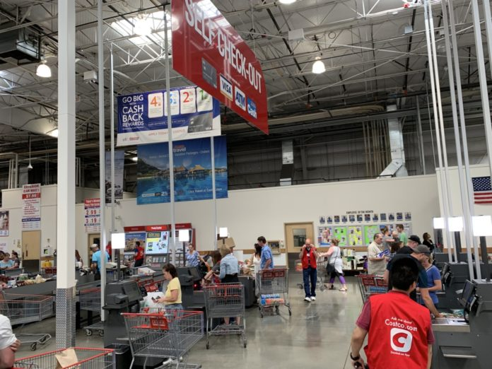 Costco self checkout