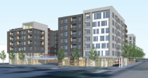 First look at student housing in Winco Foods parking lot