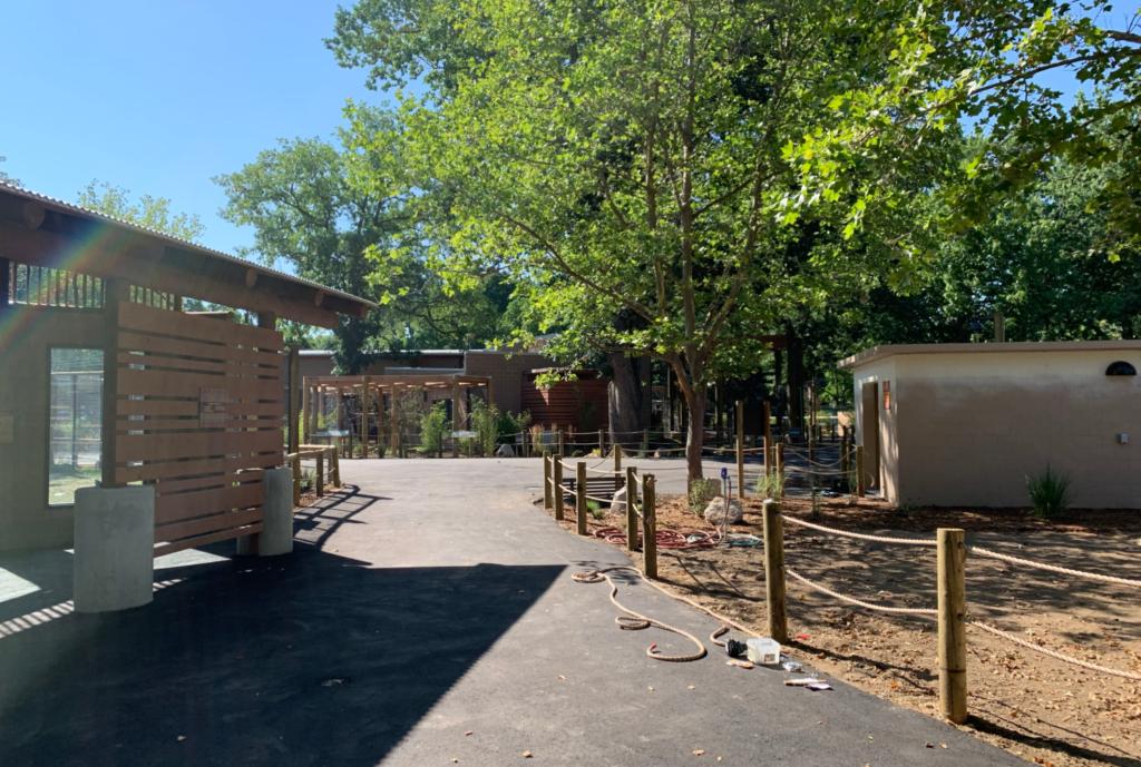 Walkway at Zoo Boise