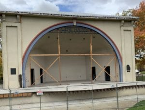 After fire, Boise's bandshell still sits behind fences. Here's the status