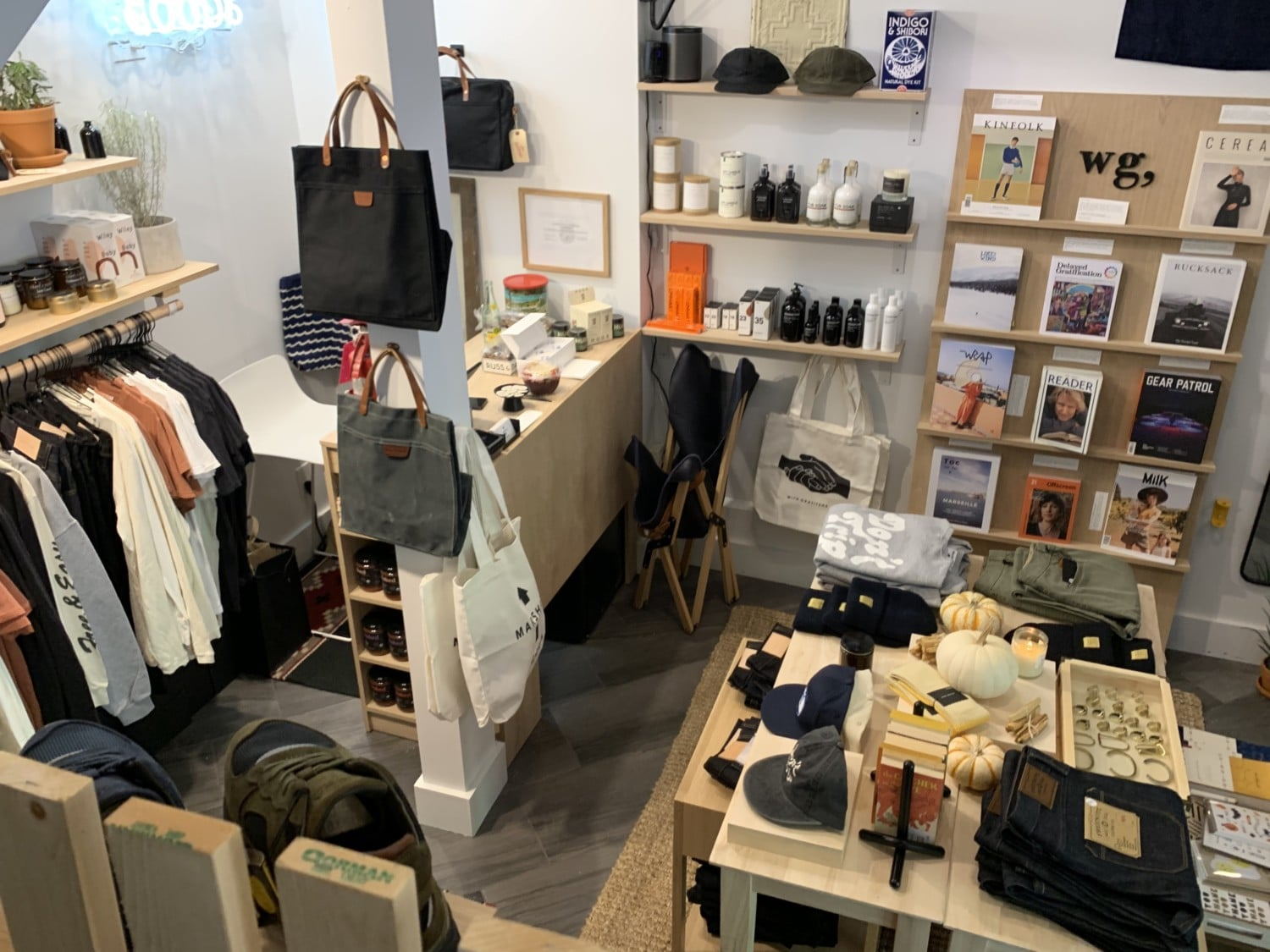 Two Pop Up Shops Slide Into Small Space Under Stairs Near Goldy S