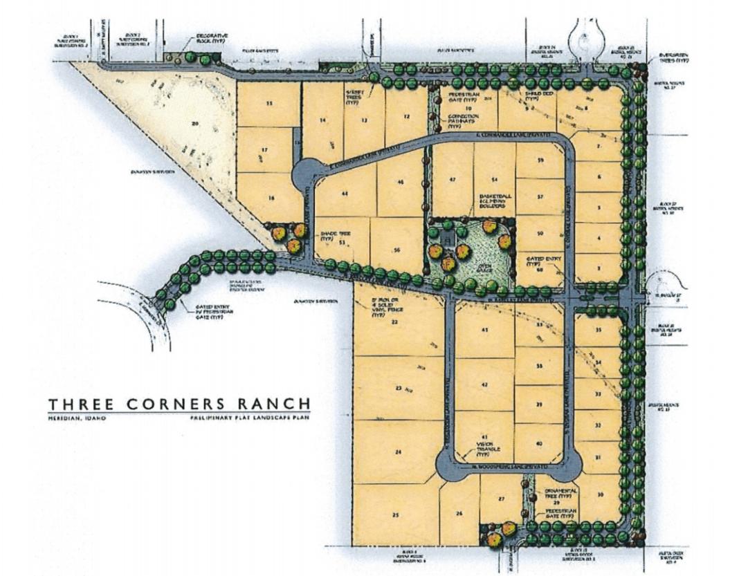 Three Corners Ranch Meridian