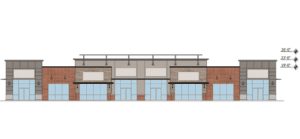 """Shops proposed in front of 'resort-style"""" VillaSport in Meridian. Oh, and what's its status?"""