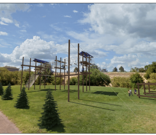 Boise State ropes course