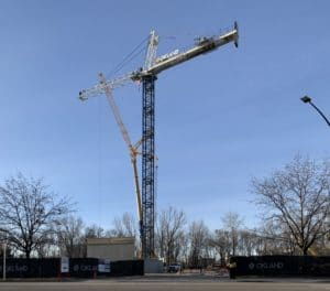 Crane-spotting: Here's why there's a new crane near Boise State