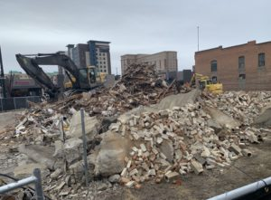 Downtown warehouse torn down, here's what's next (and why it's not considered historic)