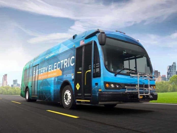 Proterra bus Boise