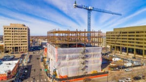 New feature of Boise skyline quickly takes shape at 11th & Idaho