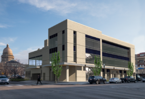 New downtown building would feature stackable car parking system