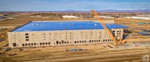 """Massive:"" New aerial video shows rapid progress of large new Amazon Nampa fulfillment center"
