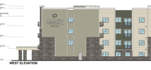 Hybrid hotel/apartment project planned near Eagle Rd.