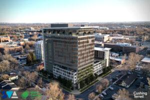 Ahlquist, ICCU plan tall new addition to Boise skyline