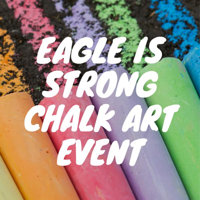 Eagle Chalk Art Festival