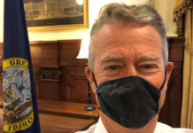 Brad Little mask
