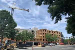 Going up: Large new apartment project pops up on Boise Greenbelt