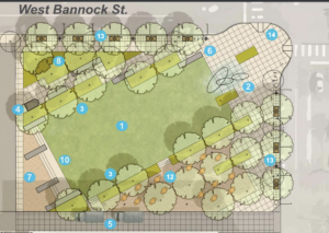 Name picked for new downtown park, but agency decides to try again; art concepts revealed