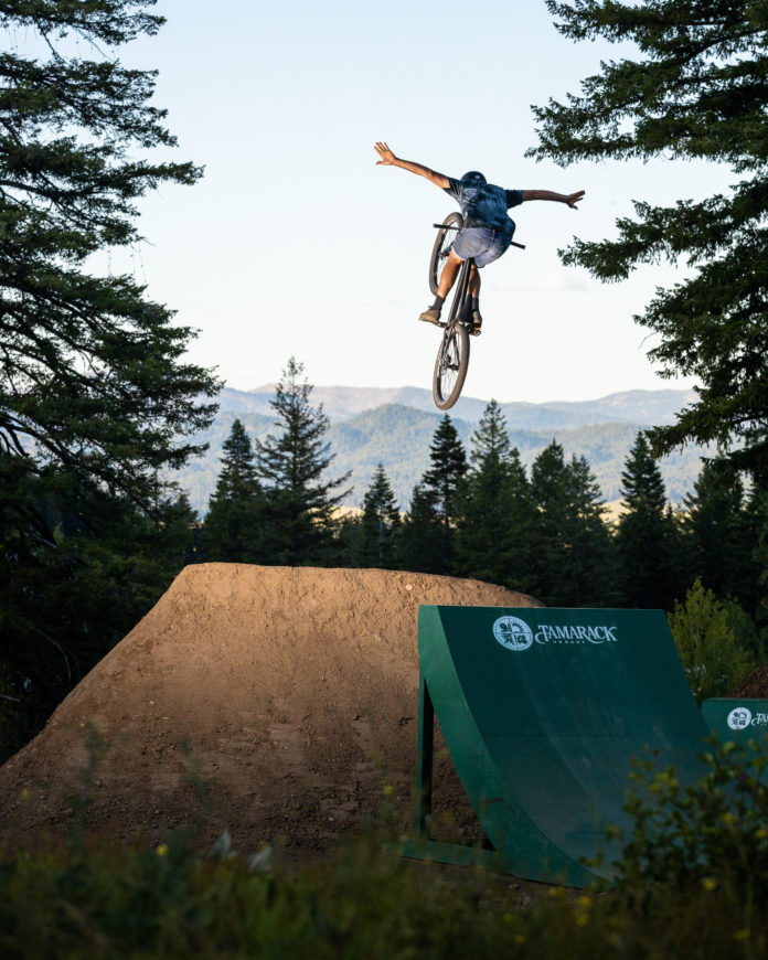 Tamarack resort bike park