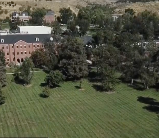Fort Boise parade grounds