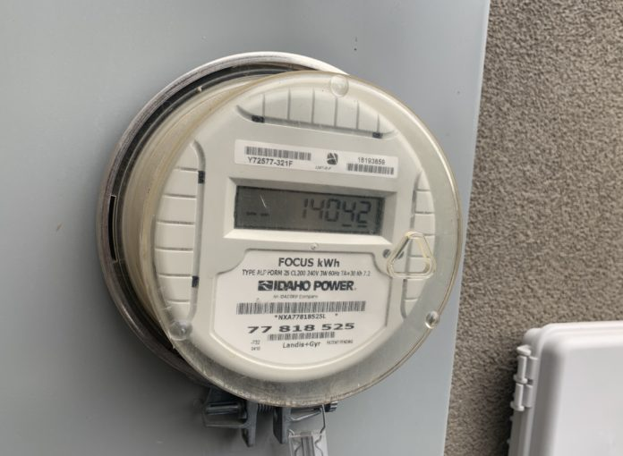 Idaho Power power meter