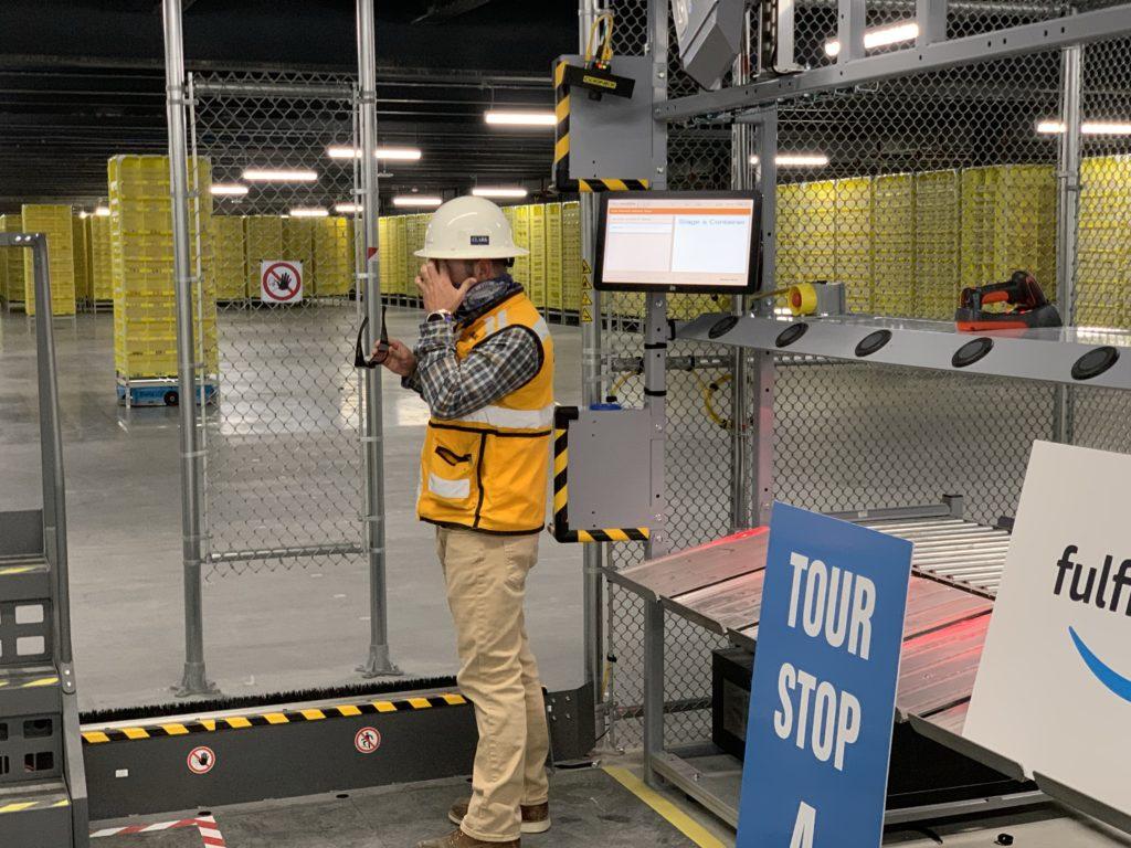 Amazon Nampa robotics